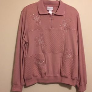 Alfred Dunner large pink top.